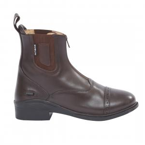 Dublin Ladies Evolution Zip Paddock Boots Brown