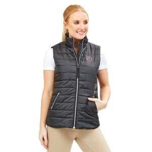 Dublin Ladies Julia Puffer Vest Black
