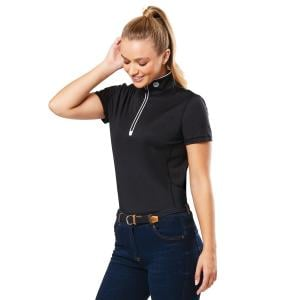 Dublin Ladies Kylee Short Sleeve Shirt Black