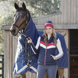 Dublin Ladies Leah Puffer Gilet True Navy