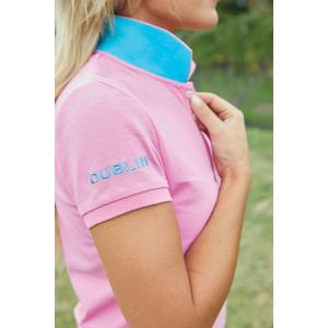 Dublin Ladies Lilly Polo Fuschia