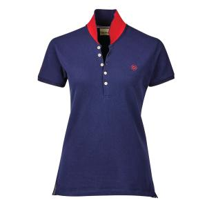 Dublin Ladies Lily Short Sleeve Polo True Navy
