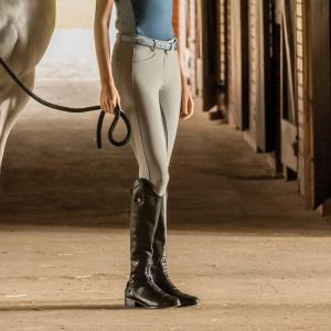 Dublin Ladies Lunar Gel Full Seat Breeches Grey
