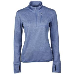Dublin Ladies Nicola 1/4 Zip Thermal Midlayer Blue Indigo