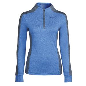 Dublin Ladies Rachel 1/2 Zip Thermal Top Dazzling Blue