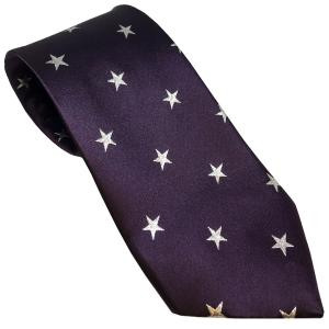 Equetech Childs Stars Show Tie Purple/Silver
