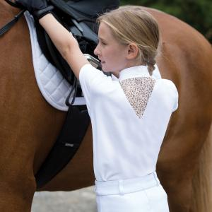 Equetech Childs Bella Competition Shirt White