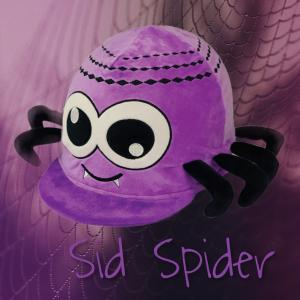 Equetech Novelty Hat Silk Spider