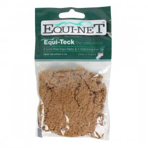Shires Equi-Net Hairnet 2 Pack Light Brown