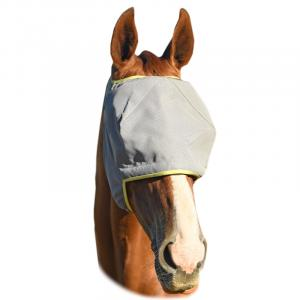 Equilibrium Field Relief® Midi Fly Mask No Ears Grey/Yellow