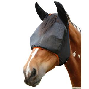 Equilibrium Field Relief® Midi Fly Mask With Ears Black