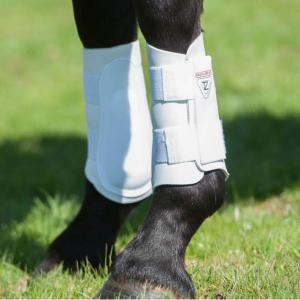 Equilibrium Tri-Zone® Brushing Boots White