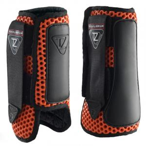 Equilibrium Tri-Zone Impact Sports Boots Front Red