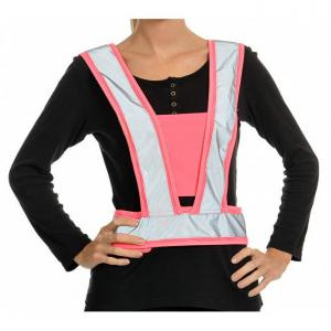 Equisafety Childs Lightweight Body Harness Pink