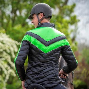 Equisafety Unisex Carl Hester Vincenzo Jacket Black/Green