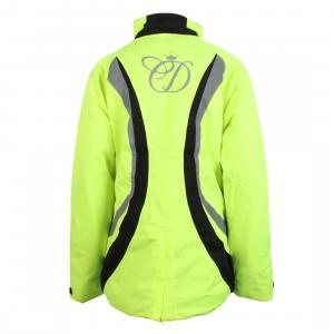 Equisafety Charlotte Dujardin Childs Volte Waterproof Jacket Yellow