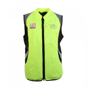 Equisafety Charlotte Dujardin Ladies Arret Gilet Yellow