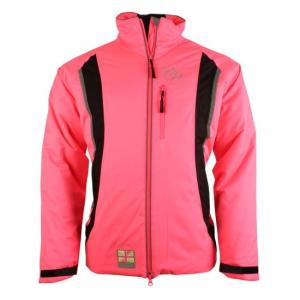 Equisafety Charlotte Dujardin Volte Waterproof Jacket Pink
