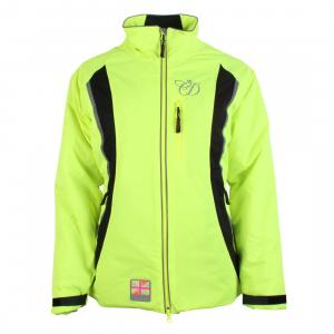 Equisafety Charlotte Dujardin Volte Waterproof Jacket Yellow