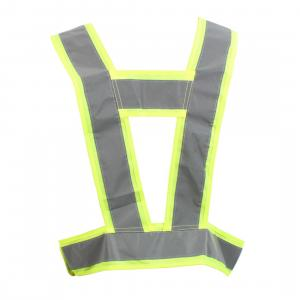 Equisafety Adults Lightweight Body Harness Yellow