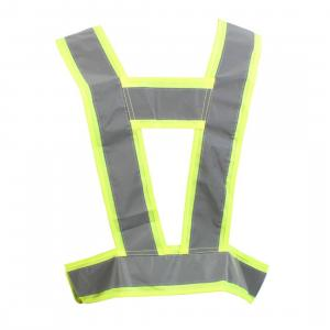 Equisafety Childs Lightweight Body Harness Yellow