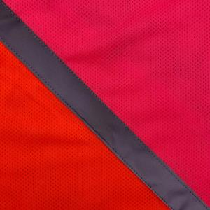 Equisafety Charlotte Dujardin Multi-Coloured Waistcoat Pink/Orange