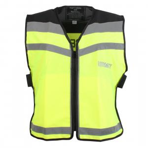 Equisafety Please Pass Wide & Slow Air Waistcoat Yellow