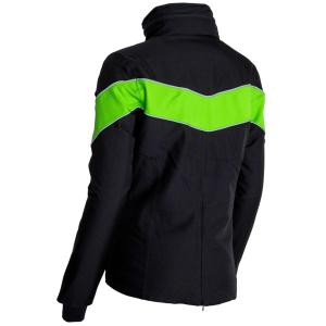 Equisafety Unisex Carl Hester Giorgione Waterproof Jacket Black/Green