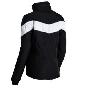 Equisafety Unisex Carl Hester Giorgione Waterproof Jacket Black/White