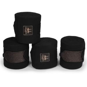 Eskadron Heritage Fleece Bandages Black