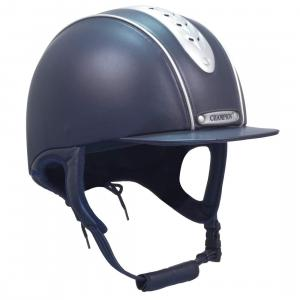 Champion Junior Evolution Pearl Riding Hat Navy