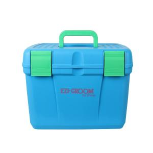 Ezi-Groom Deluxe Grooming Box Bright Blue