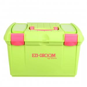 Ezi-Groom Two Tone Tack Box Lime