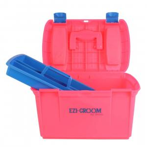 Ezi-Groom Two Tone Tack Box Pink