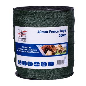Fenceman Tape Green 40mm/200m