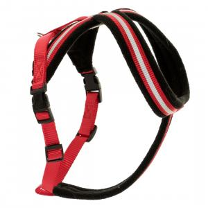 Halti Comfy Dog Harness Red