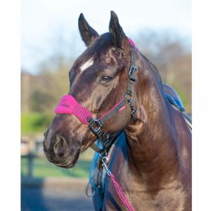 LeMieux Vogue Fleece Headcollar & Leadrope Plum/Black
