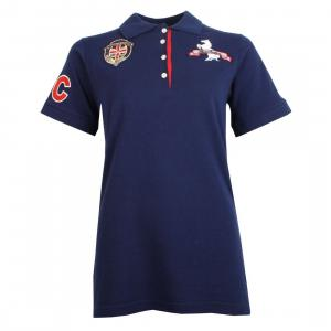 Horse Couture Milan/Corsa Logo Polo Shirt 2 Pack Navy