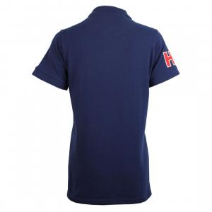 Horse Couture Corsa Small Logo Polo Shirt Navy