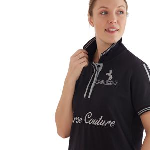 Horse Couture Ladies Anderton Polo Black