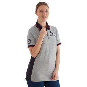 Horse Couture Ladies Arden Polo Grey Marl