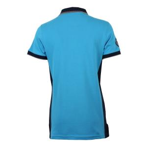 Horse Couture Ladies Henshaw Small Logo Polo Blue