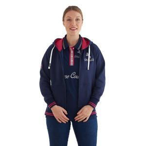 Horse Couture Ladies Standish Hoody Navy