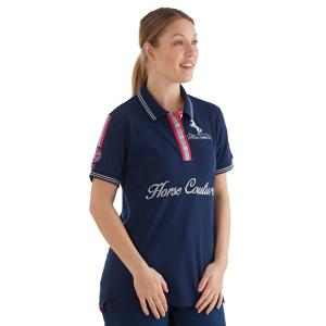 Horse Couture Ladies Warren Polo Navy
