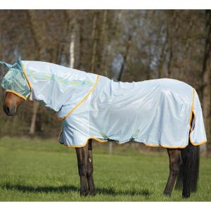 Horseware® Amigo® Bug Rug Azure Blue/Aqua/Orange