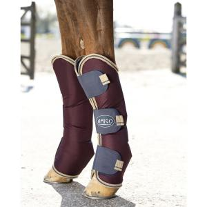 Horseware® Amigo® Ripstop Travel Boots Fig/Navy/Tan