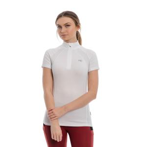 Horseware® Ladies Aveen Short Sleeve Tech Top White
