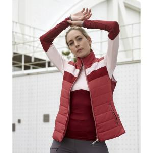 Horseware® Ladies Blake Padded Gilet Summer Berry