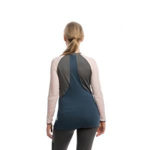 Horseware® Ladies Jade Crew Neck Baselayer Navy/Rosewater