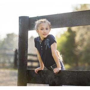 Horseware® Girls Flamboro Polo Navy